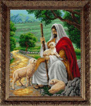 Наборы для вышивания бисером Золотые ручки «Пастырь» ЛМ-028