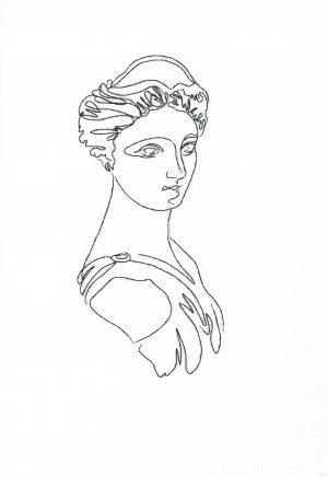 Наборы для вышивания крестом Золотые ручки «Венера» ОЛ-002