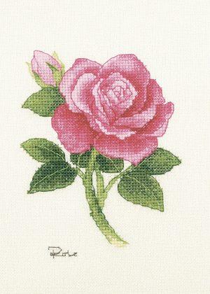 Набор для вышивки крестом Xiu crafts «Роза» 2032401