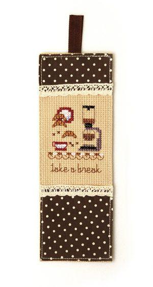 Набор для вышивки закладки Xiu crafts «Перерыв на кофе» 2871201