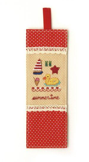 Набор для вышивки закладки Xiu crafts «Лето» 2871203