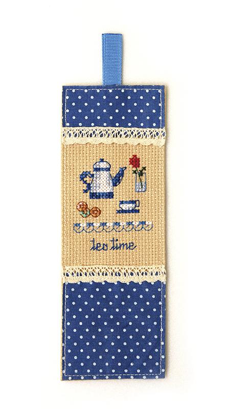 Набор для вышивки закладки Xiu crafts «Чаепитие» 2871202