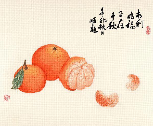 Набор для вышивки крестом Xiu crafts «Благосостояние» 2030403