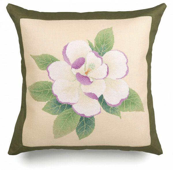 Набор для вышивания подушки Xiu crafts «Магнолия» 2870302