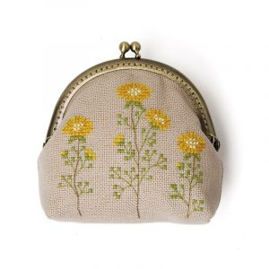 Набор для вышивки кошелька Xiu crafts «Маргаритка» 2860305