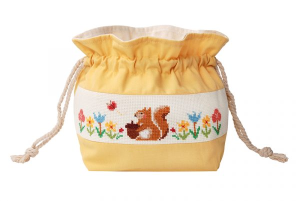 Набор для вышивки сумки Xiu crafts «Белка с жёлудем» 2860501