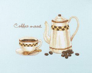 Набор для вышивки крестом Xiu crafts «Кофейное настроение» 2032003