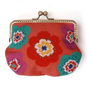 Набор для вышивки сумки Xiu crafts «Яркие цветы» 2860303