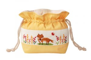 Набор для вышивки сумки Xiu crafts «Лиса» 2860502