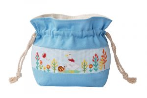 Набор для вышивки сумки Xiu crafts «Утка и улитка» 2860505