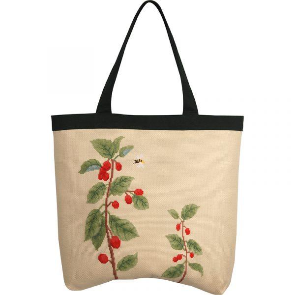 Набор для вышивки сумки Xiu crafts «Пчела и листья» 2860203