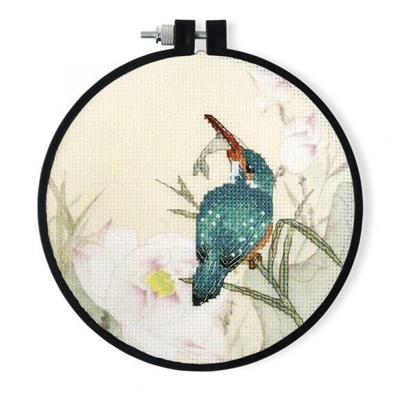 Набор для вышивки крестом Xiu crafts «Синяя птица и рыба» 2032604