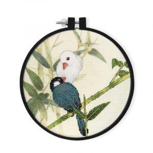Набор для вышивки крестом Xiu crafts «Две птицы» 2032605