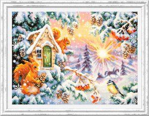Набор для вышивки крестом Чудесна Игла «Зимнее утро» арт.110-700
