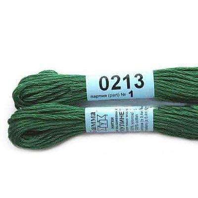 Мулине Гамма т.зелёный 0213