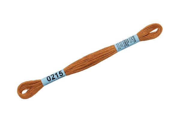 Мулине Гамма золотисто-коричневый 0215