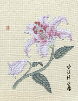 Набор для вышивки крестом Xiu crafts «Лилия» 2031901