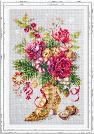 Набор для вышивки крестом Чудесна Игла «Рождественский сюрприз» арт.100-270