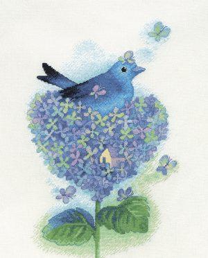 Набор для вышивки крестом Xiu crafts «Сад разума» 2031306