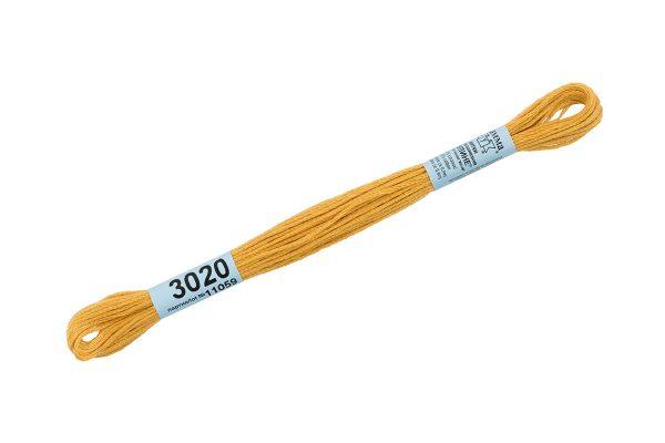 Мулине Гамма темно-желтый 3020