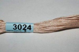 Мулине Гамма чайная роза 3024
