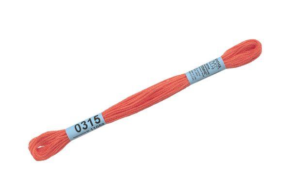 Мулине Гамма красно-оранжевый 0315