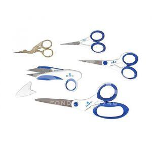 Набор из 5 ножниц для вышивки в футляре DMC