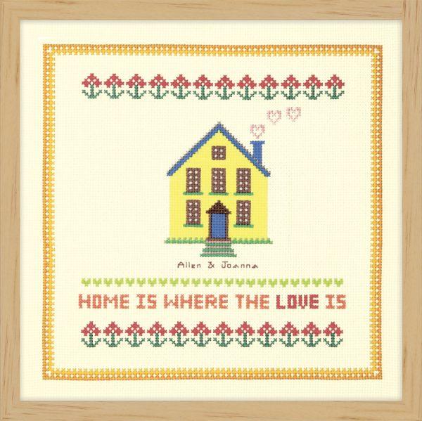 Набор для вышивки крестом Xiu crafts «Желтая мансарда» 2870706
