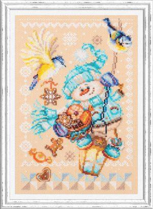 Набор для вышивки крестом Чудесна Игла «Рождественские гостинцы» арт.100-260