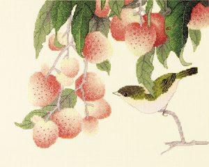 Набор для вышивки крестом Xiu crafts «Спокойствие и радость» 2030842