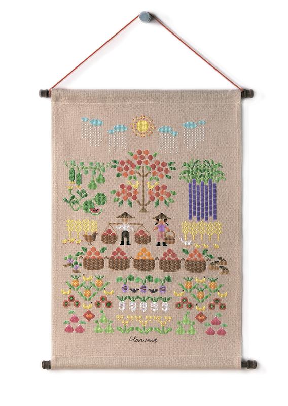 Набор для вышивки крестом Xiu crafts «Урожай» 2870902