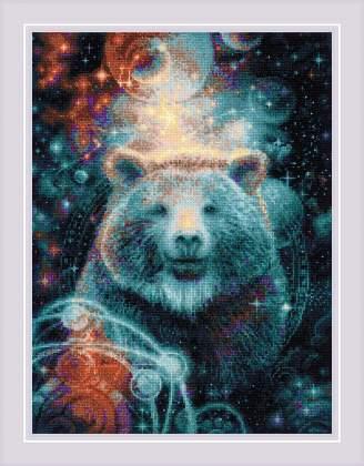 Набор для вышивания крестом Риолис «Большая медведица» 1921