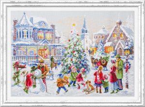 Набор для вышивки крестом Чудесна Игла «Накануне Рождества» арт.100-250