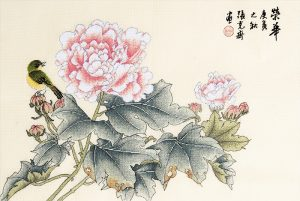 Набор для вышивки крестом Xiu crafts «Процветание» 2030820