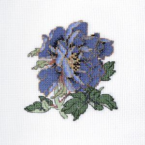 Набор для вышивки крестом Xiu crafts «Великолепие синего пиона» 2030845