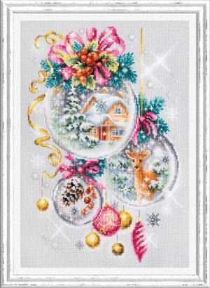 Набор для вышивки крестом Чудесна Игла «Рождественская сказка» арт.100-247