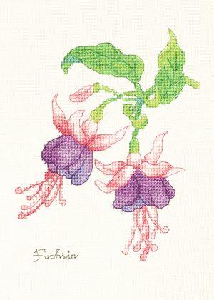 Набор для вышивки крестом Xiu crafts «Фуксия» 2032404