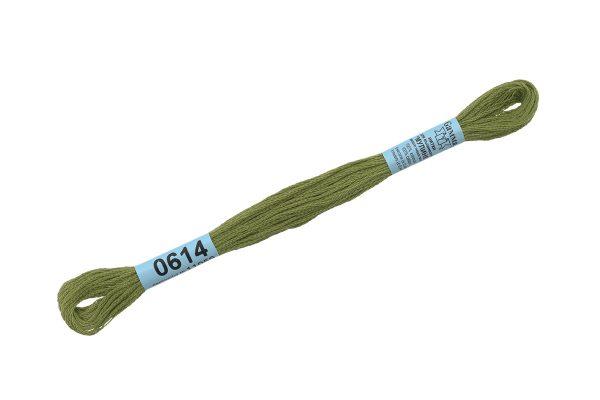 Мулине Гамма оливковый 0614