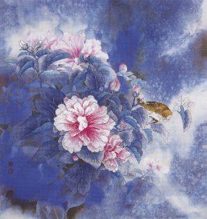 Набор для вышивки крестом Xiu crafts «Цветок и птица» 2031208