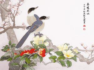 Набор для вышивки крестом Xiu crafts «Приход весны» 2030825