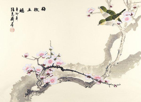 Набор для вышивки крестом Xiu crafts «Цветение» 2030832