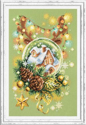 Набор для вышивки крестом Чудесна Игла «Светлое рождество» арт.100-245