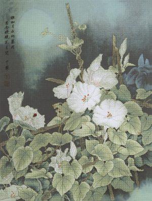 Набор для вышивки крестом Xiu crafts «Лунные цветы» 2031102