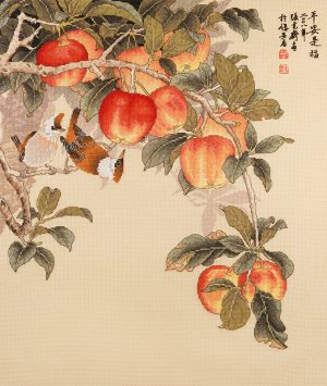 Набор для вышивки крестом Xiu crafts «Спелые яблоки» 2030823
