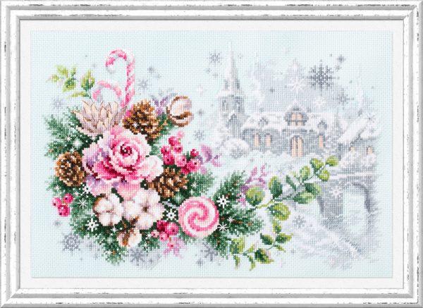 Набор для вышивки крестом Чудесна Игла «Рождественское настроение» арт.100-244