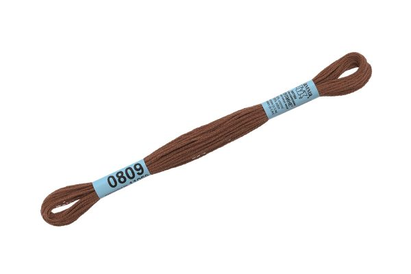 Мулине Гамма коричневый 0809