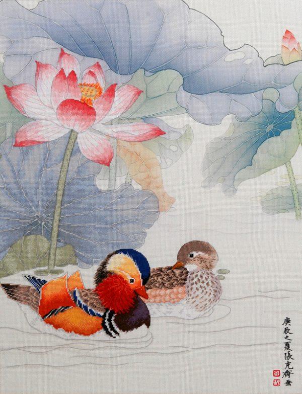 Набор для вышивки крестом Xiu crafts «Любовь навеки» 2030809