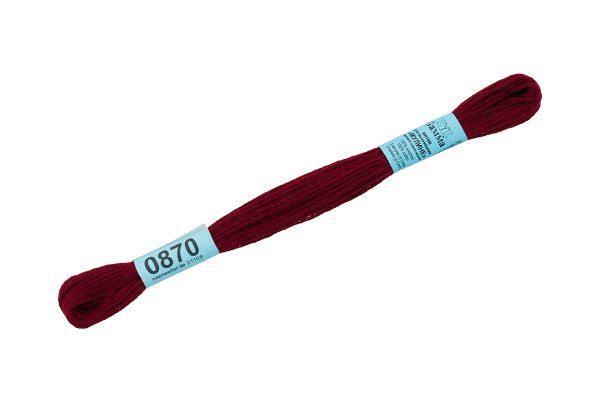 Мулине Гамма темно-бордовый 0870