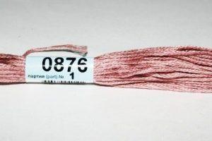 Мулине Гамма розовый 0876