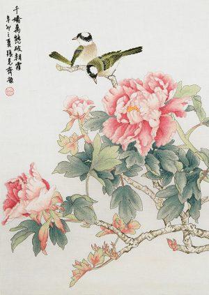 Набор для вышивки крестом Xiu crafts «Аромат пиона» 2030817